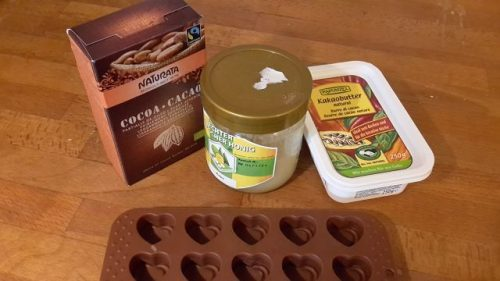 Zutaten Schokolade