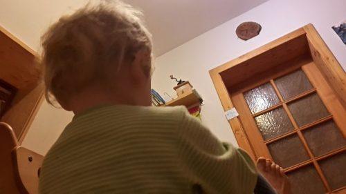 Morgensport mit Kind